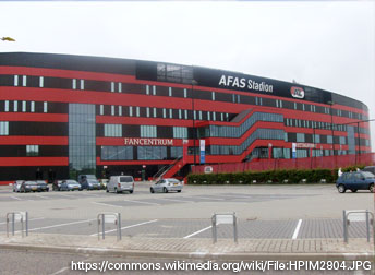 AFAS stadium AZ Alkmaar The Netherlands